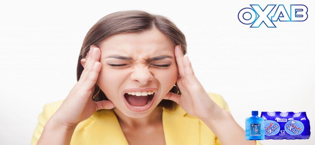 سردرد ها در اثر کمبود مزمن آب