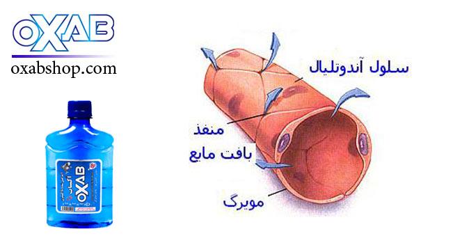 گردش خون مویرگی با مصرف اکسیژن