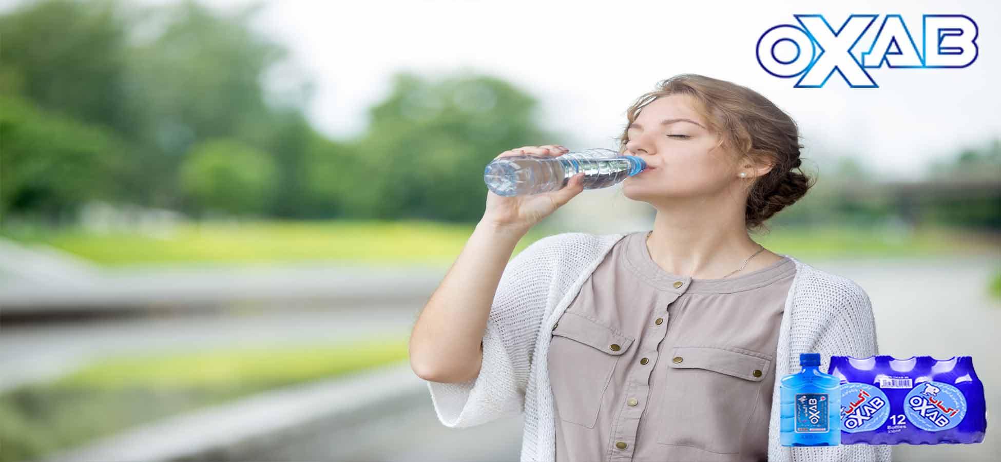 آب غنی شده از اکسیژن نوشیدنی برای سلامتی شما