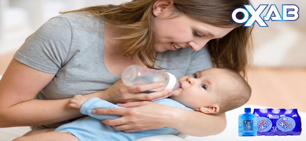 بهترین آب برای نوزادان