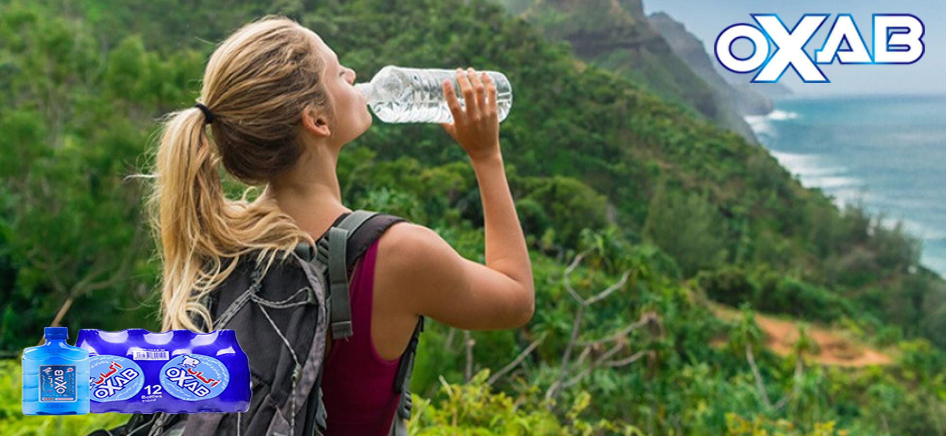 نوشیدن آب در هنگام سفر